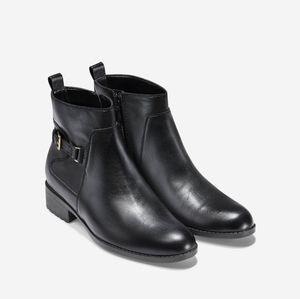 Cole Haan Evren waterproof black ankle boots
